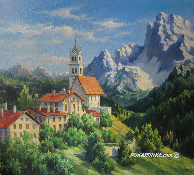 Альпы - картинная галерея PoKartinke.com