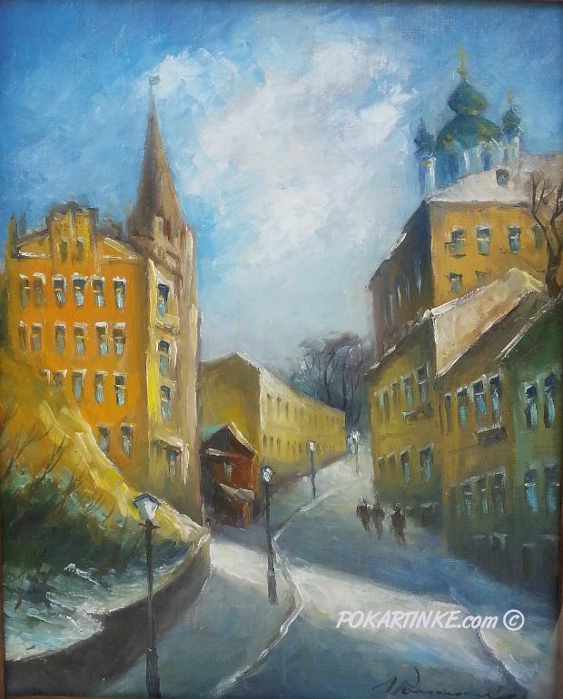 Андріївський узвіз - картинная галерея PoKartinke.com