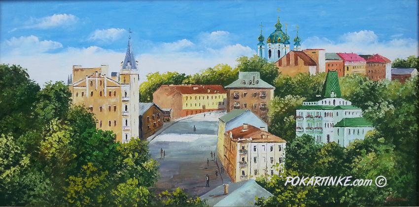Андреевский спуск - картинная галерея PoKartinke.com