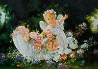 Ангелок с коляской