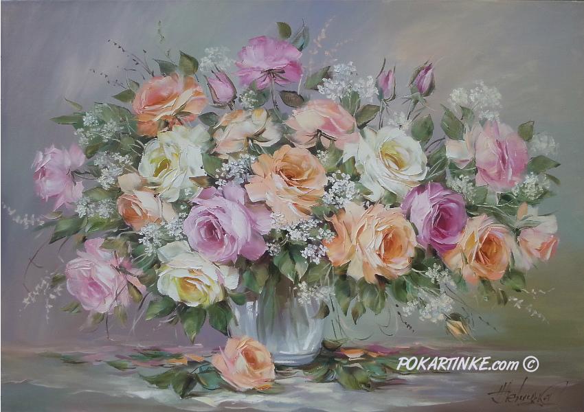 Аромат роз - картинная галерея PoKartinke.com