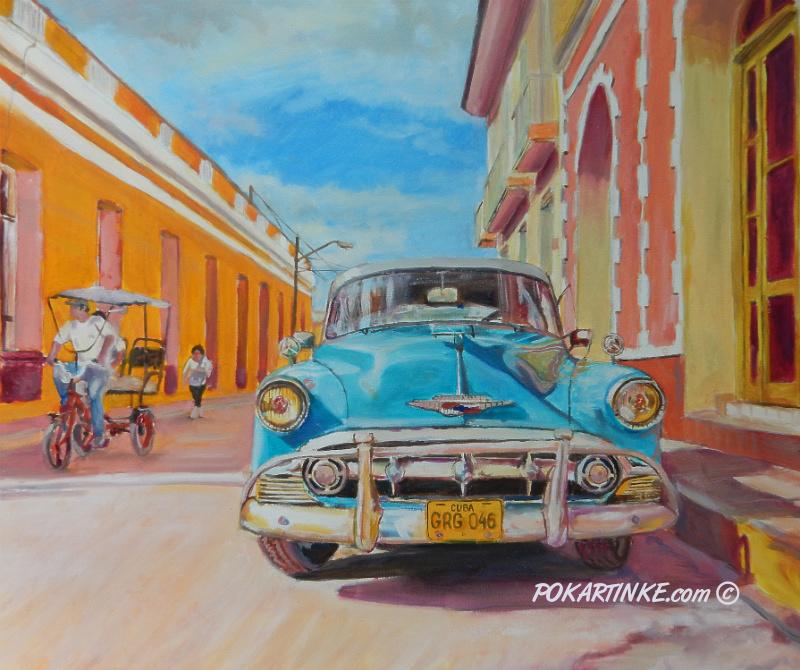 Кубинское авто - картинная галерея PoKartinke.com