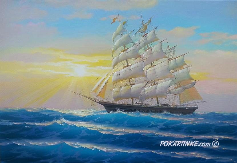 Белые паруса - картинная галерея PoKartinke.com