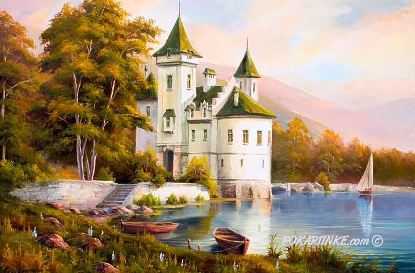 Белый замок - картинная галерея PoKartinke.com