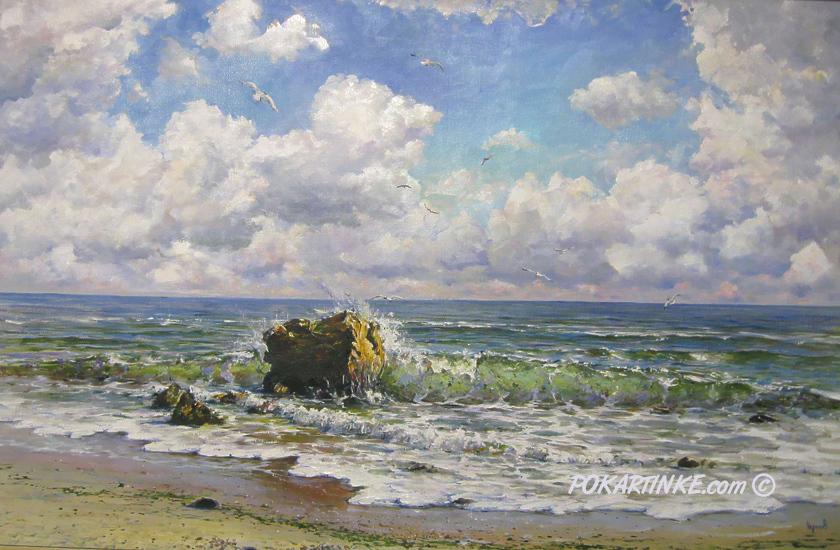 Берега Одессы - картинная галерея PoKartinke.com