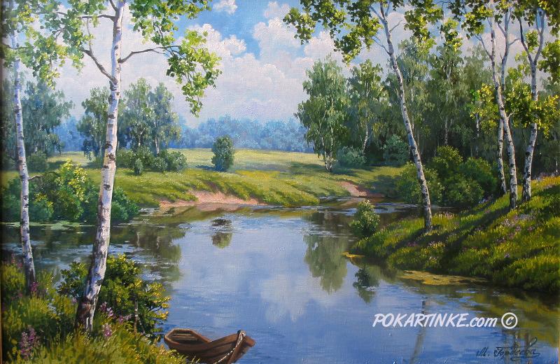 Березки - картинная галерея PoKartinke.com