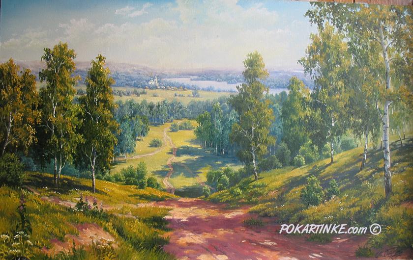 Бескрайние просторы - картинная галерея PoKartinke.com