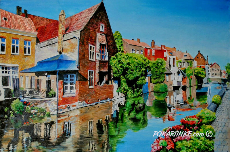Брюгге - картинная галерея PoKartinke.com