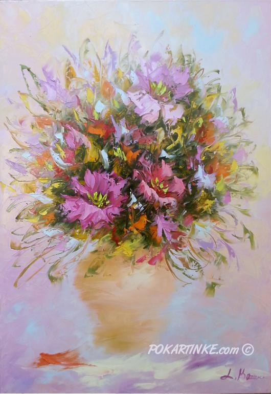 Букет июня - картинная галерея PoKartinke.com