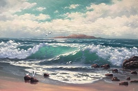 Бирюзовые волны