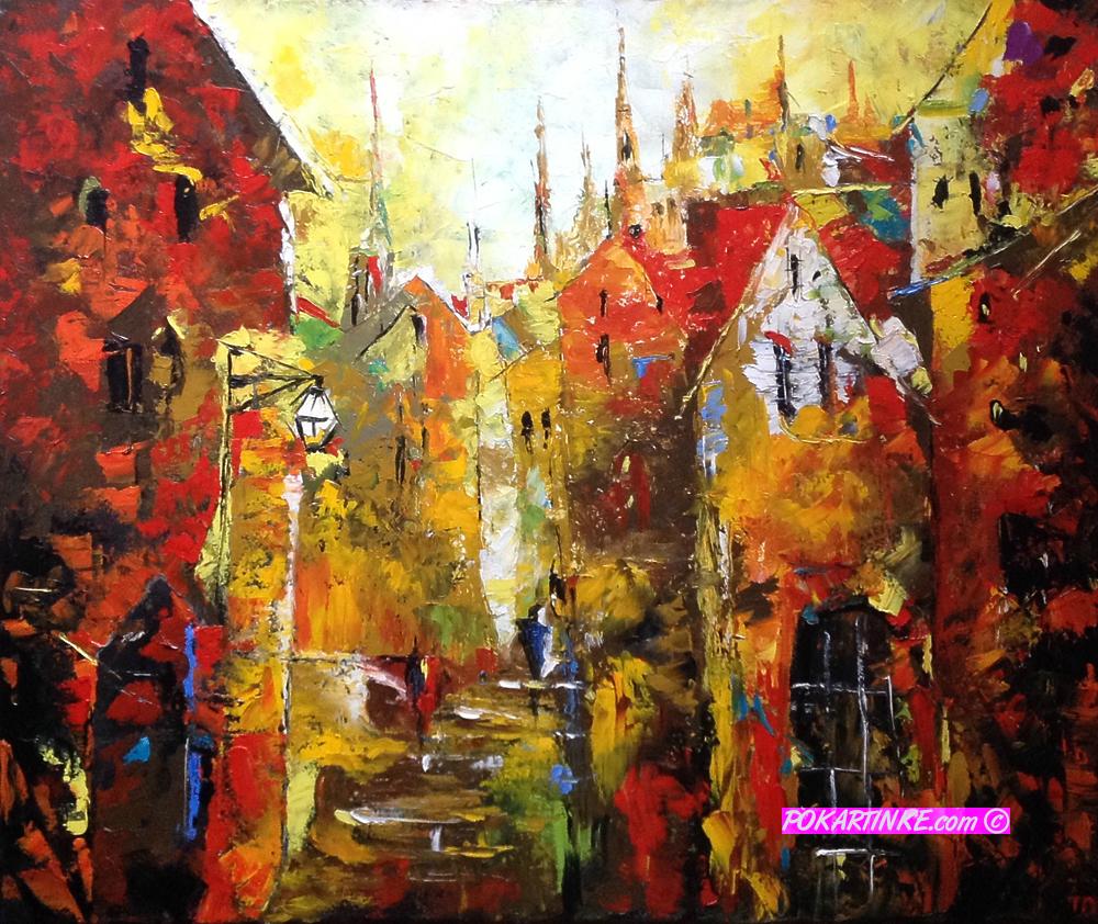 Старый город - картинная галерея PoKartinke.com