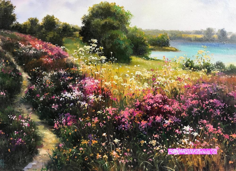 Летний пейзаж - картинная галерея PoKartinke.com