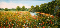 Цветочная река