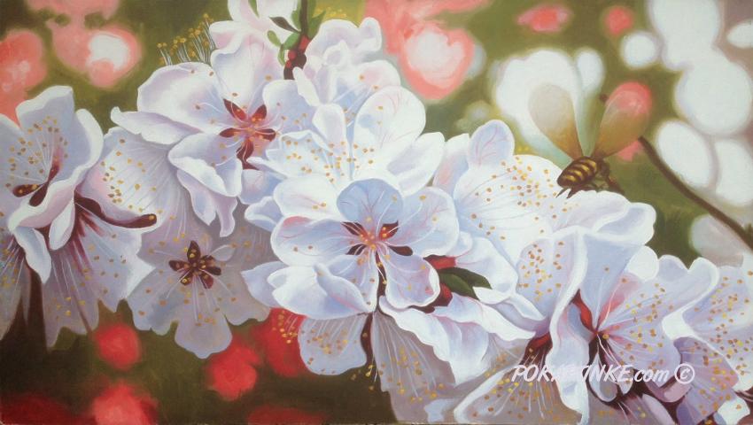 Цветение - картинная галерея PoKartinke.com