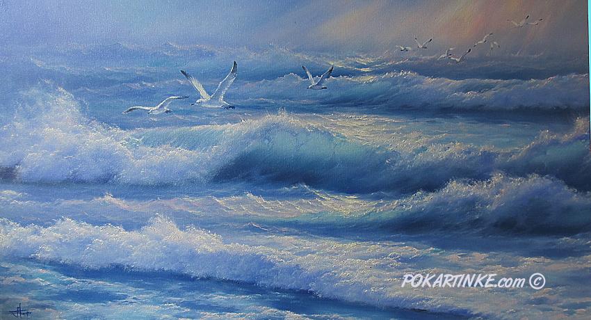 Дыхание моря - картинная галерея PoKartinke.com