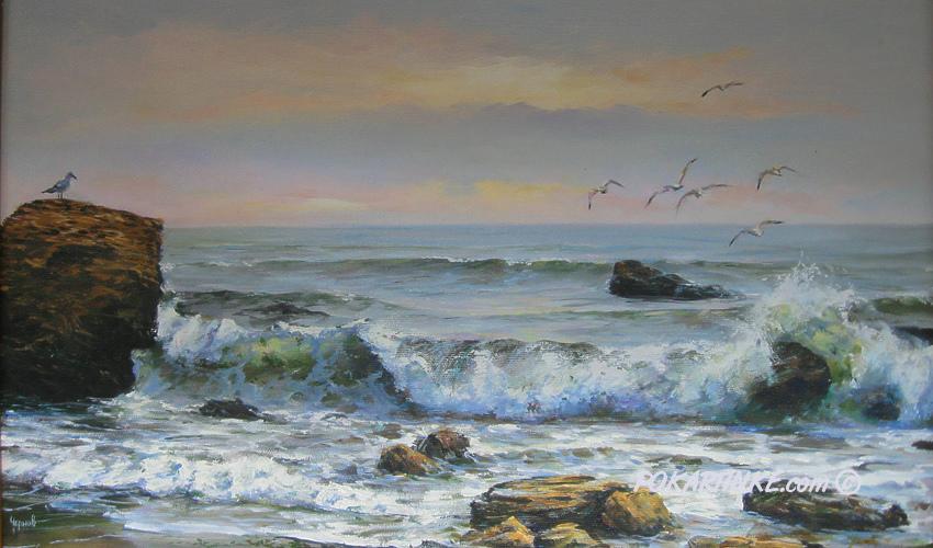 Дикий пляж Одессы - картинная галерея PoKartinke.com
