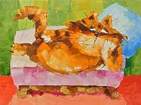 Диваноспальный кот