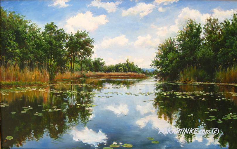 Днепровская амазонка - картинная галерея PoKartinke.com