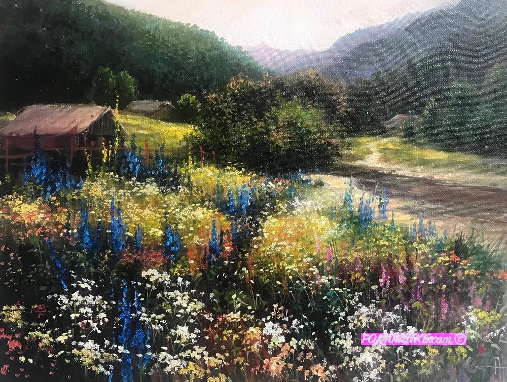 Цветение в Карпатах - картинная галерея PoKartinke.com