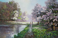 Дождь весной