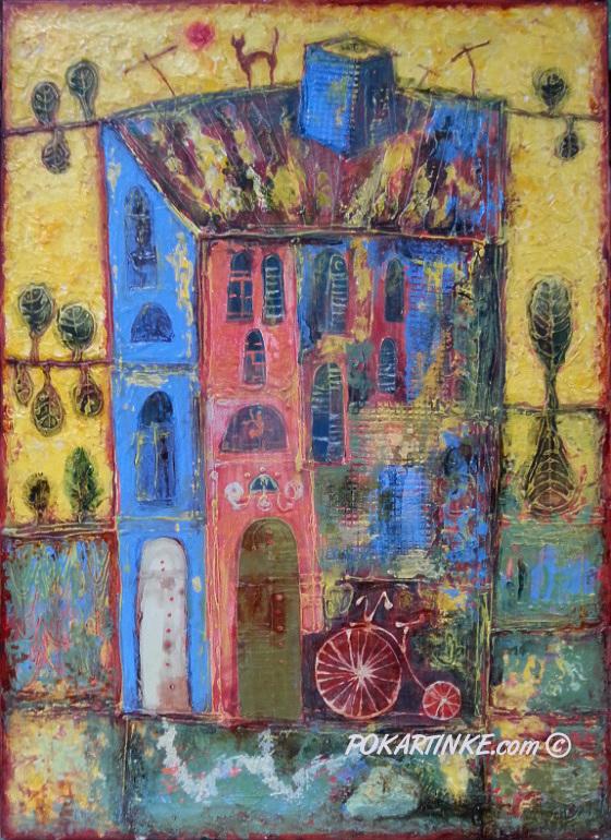 Домик из детства - картинная галерея PoKartinke.com