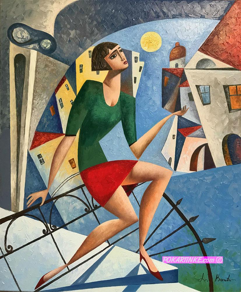 Вечер - картинная галерея PoKartinke.com