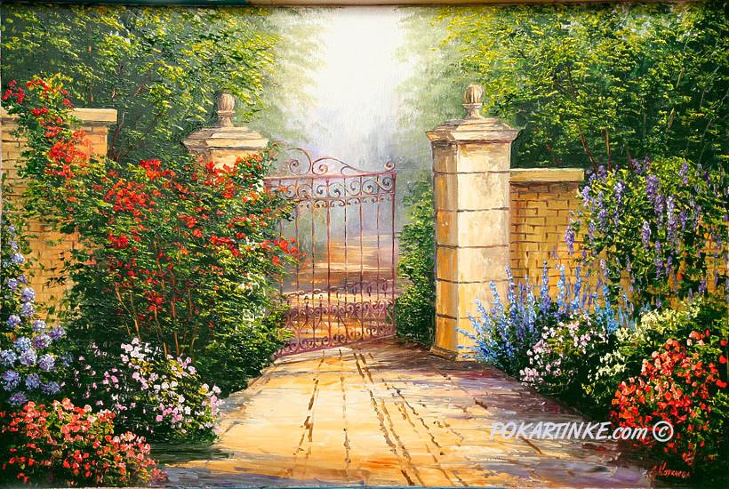 Дверь в тайну - картинная галерея PoKartinke.com