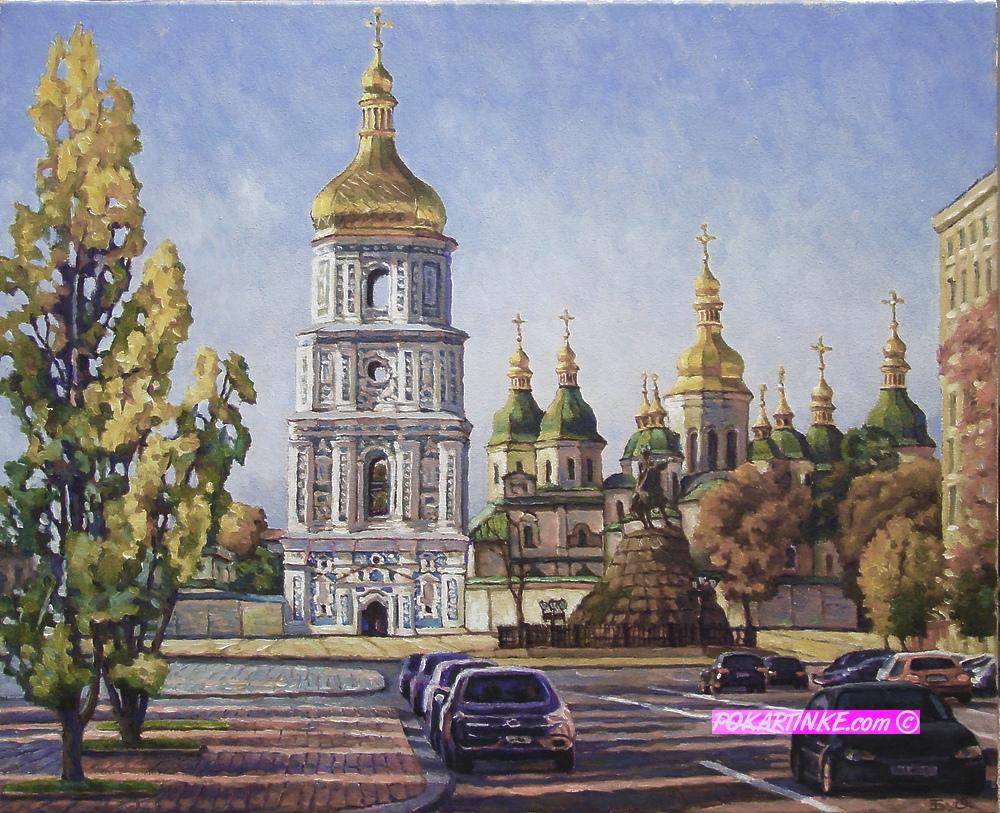 Вид на Софию - картинная галерея PoKartinke.com