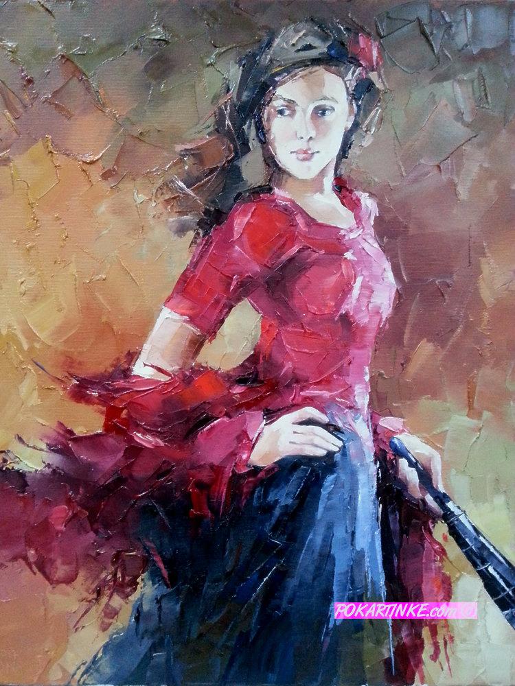 Фламенко - картинная галерея PoKartinke.com