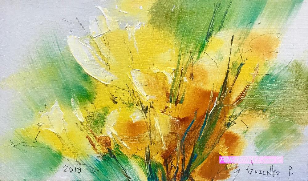 Солнечные цветы - картинная галерея PoKartinke.com