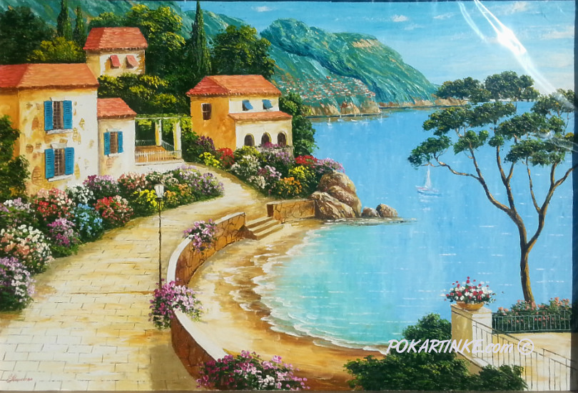 Голубая бухта - картинная галерея PoKartinke.com