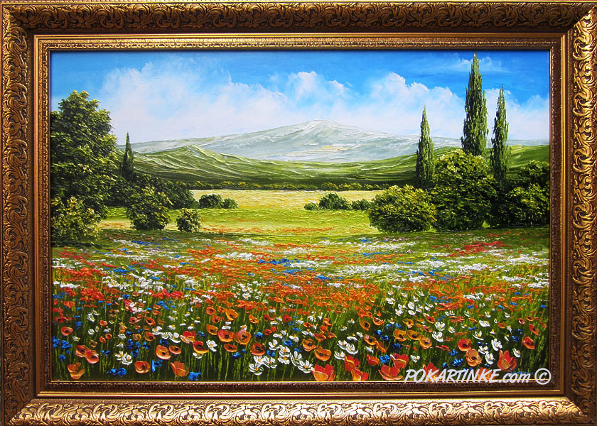 Горная долина - картинная галерея PoKartinke.com