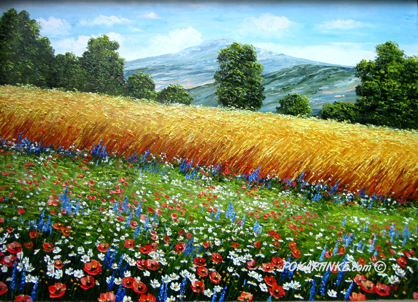 Горные травы - картинная галерея PoKartinke.com