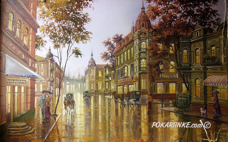 Городской мотив - картинная галерея PoKartinke.com