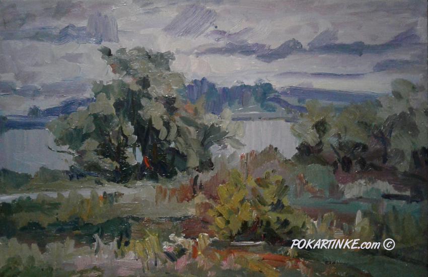 Хмурый день - картинная галерея PoKartinke.com