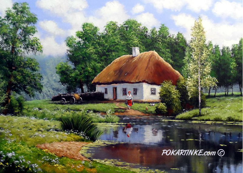 Хутор - картинная галерея PoKartinke.com