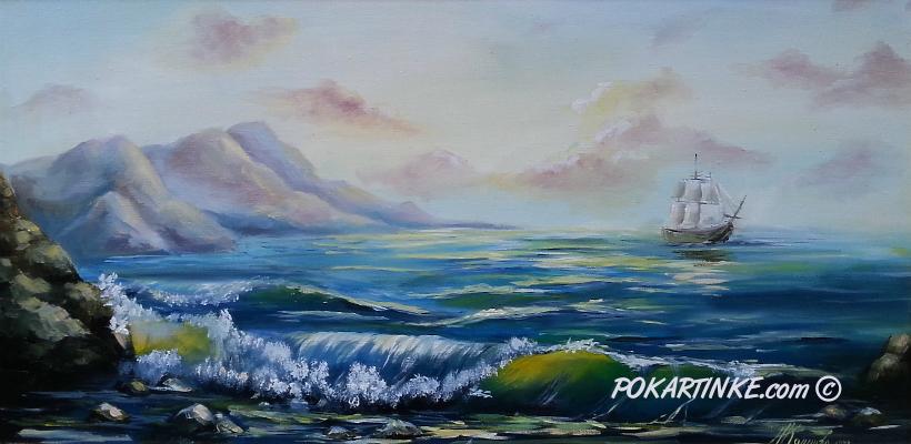 Хвилі - картинная галерея PoKartinke.com
