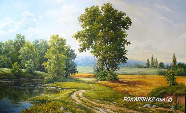 Июль - картинная галерея PoKartinke.com