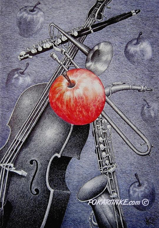 Яблочный блюз - картинная галерея PoKartinke.com