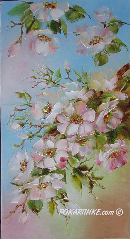 Яблоневый цвет - картинная галерея PoKartinke.com