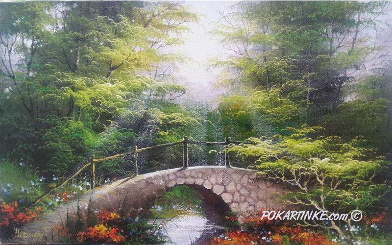 Каменный мостик - картинная галерея PoKartinke.com