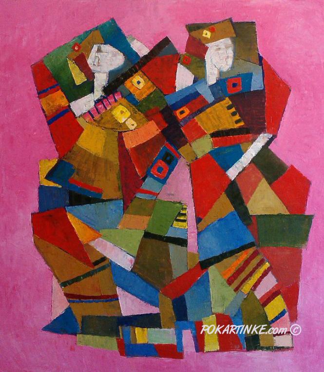 Колоритный танец - картинная галерея PoKartinke.com