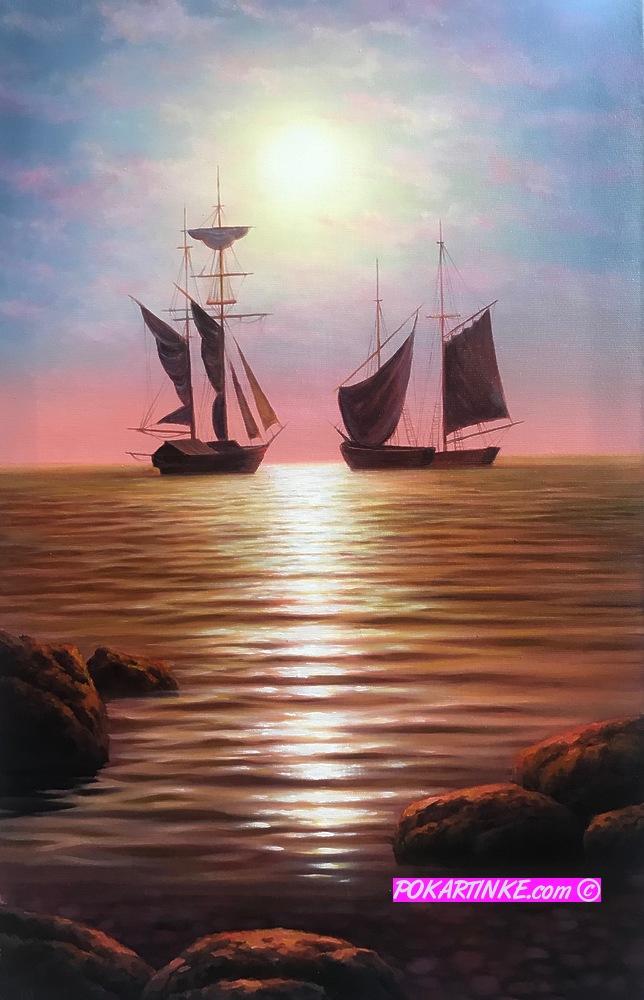 Корабли - картинная галерея PoKartinke.com