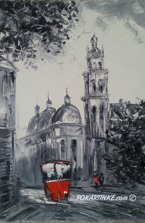 Черно-белый Львов - картинная галерея PoKartinke.com