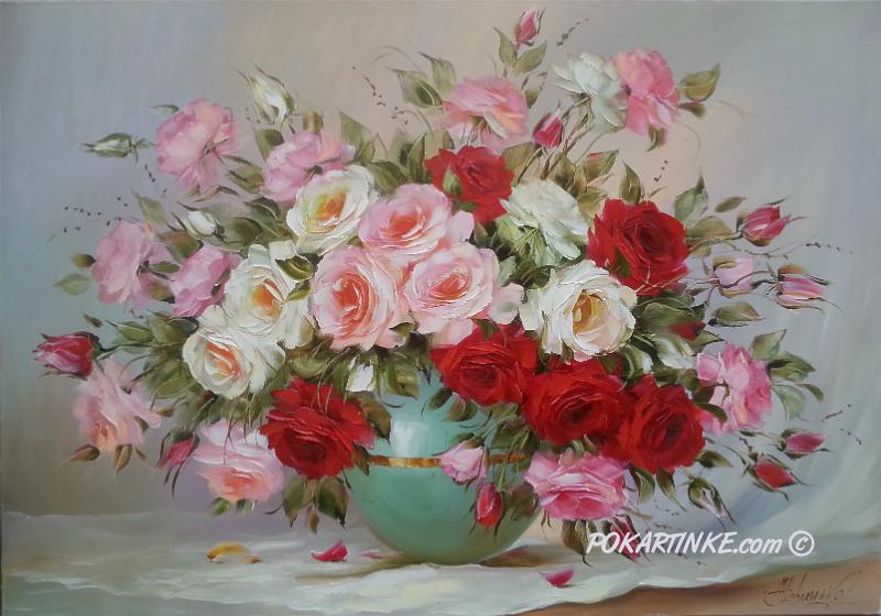 Прекрасные розы - картинная галерея PoKartinke.com