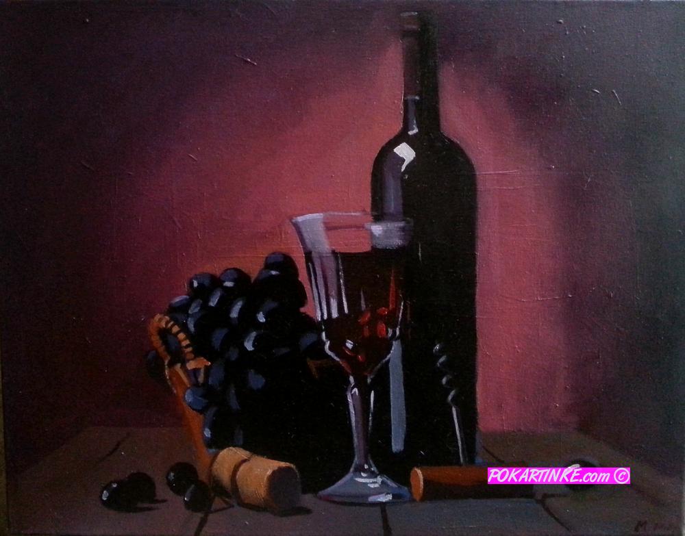 Красное вино - картинная галерея PoKartinke.com