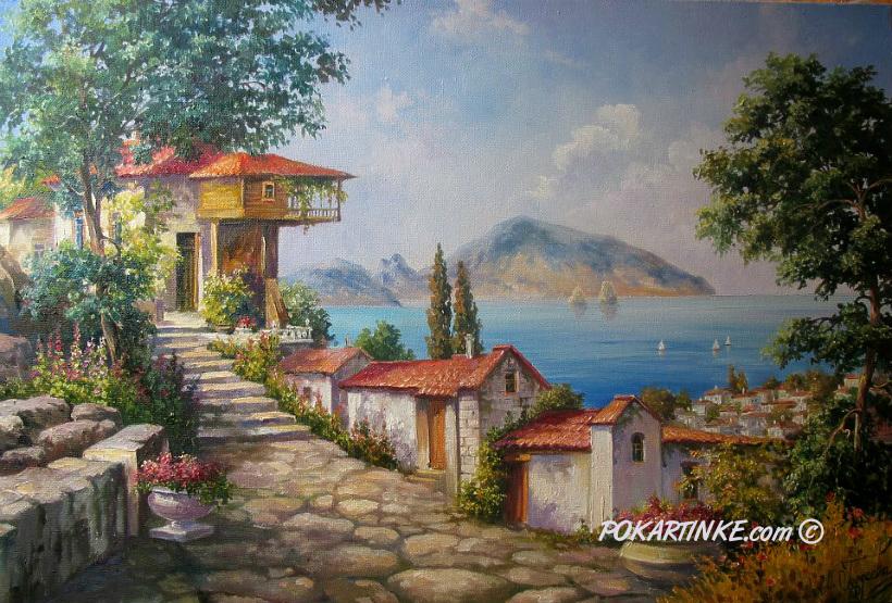Крымский городок - картинная галерея PoKartinke.com