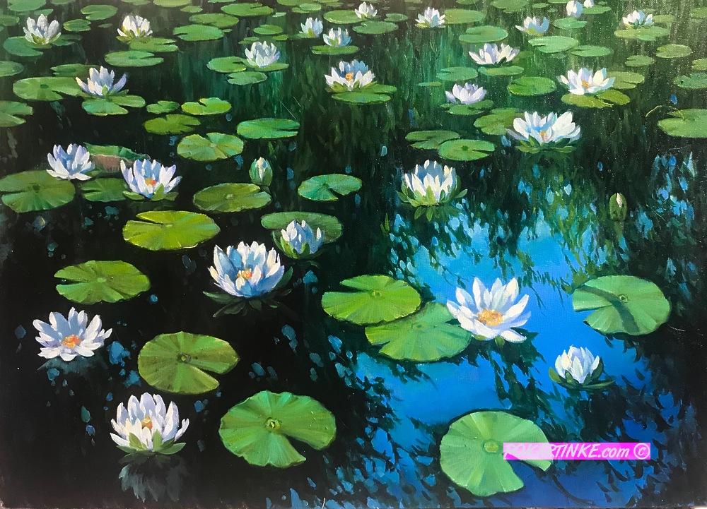Кувшинки - картинная галерея PoKartinke.com