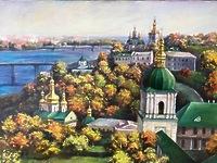 Осень в Киево-Печерской Лавре