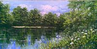 На летнем озере